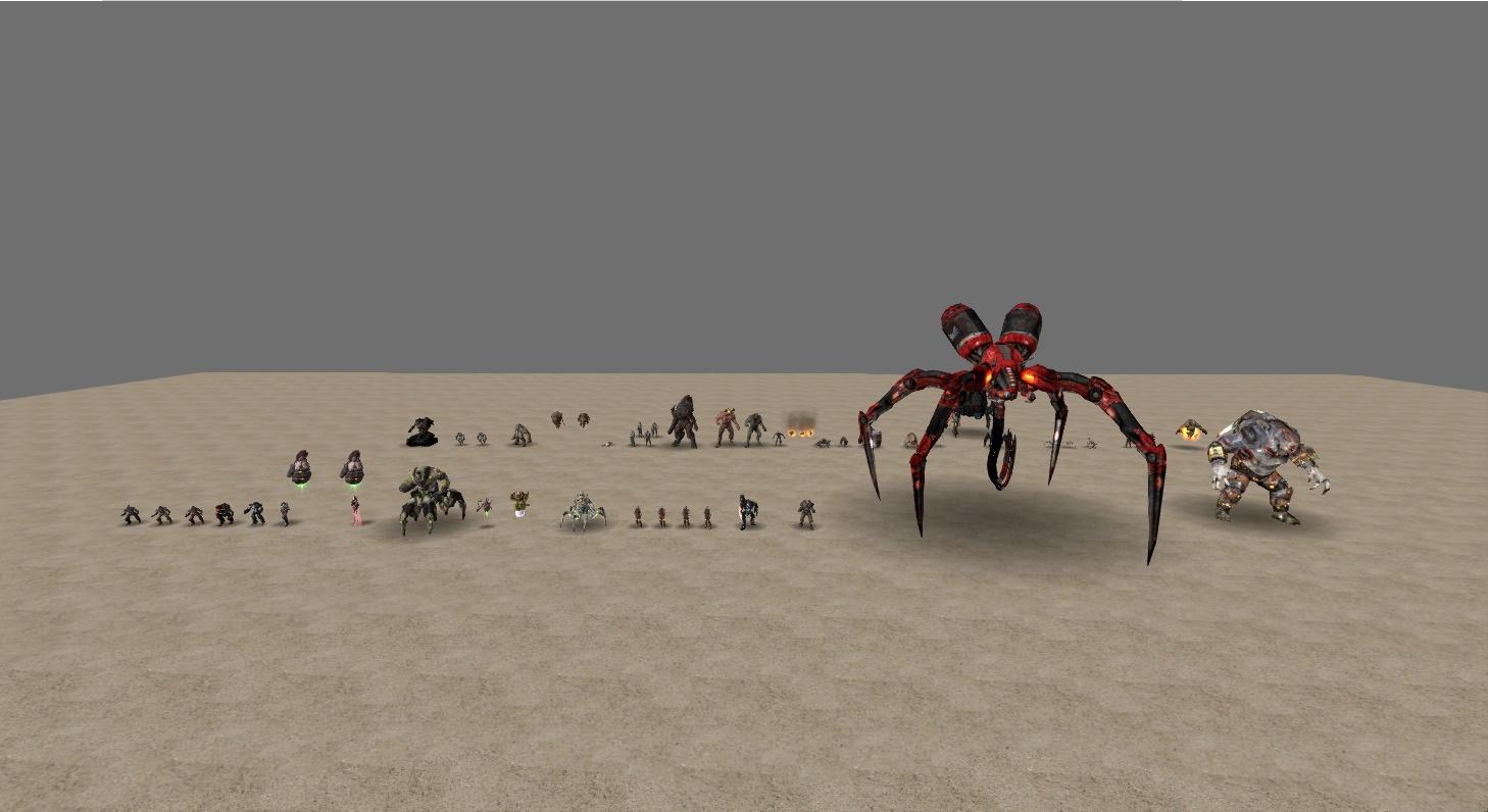Steam Workshop :: Doom 3/Quake 4 Monsters 1 of 2 Quake 4 Monsters