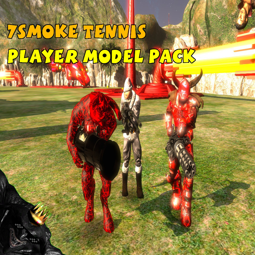 The 7Smoke Tennis Player Model Pack