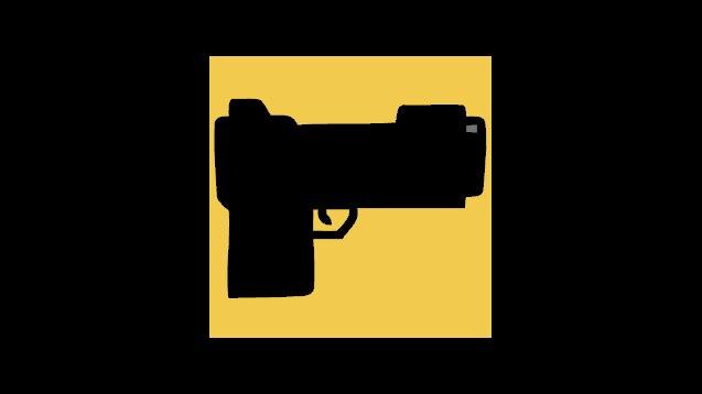 dark matter gun