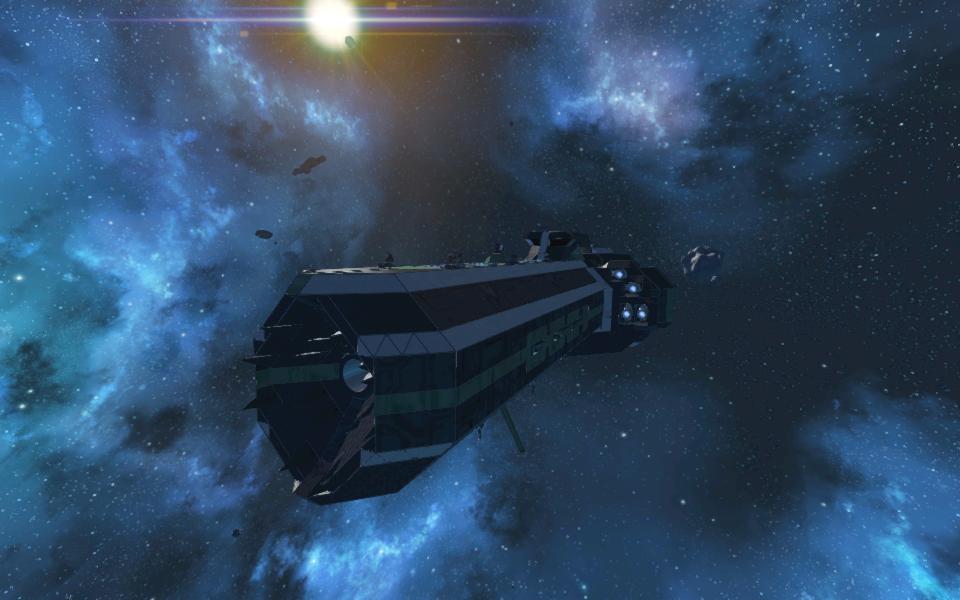 Behemoth Mk. II (Big Bertha Mothership)