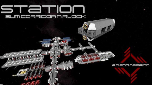 Steam Workshop Aoe Station Slim Corridor Airlock