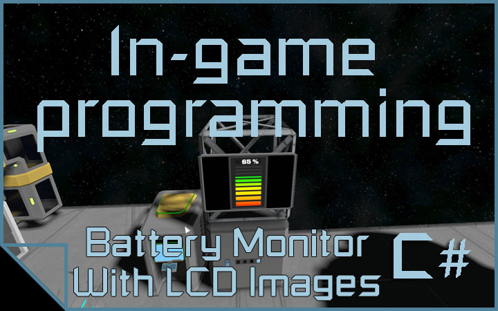 Battery Monitor With LCD Images