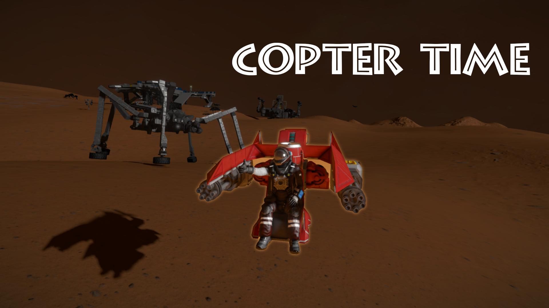 Copter time [VTOL]