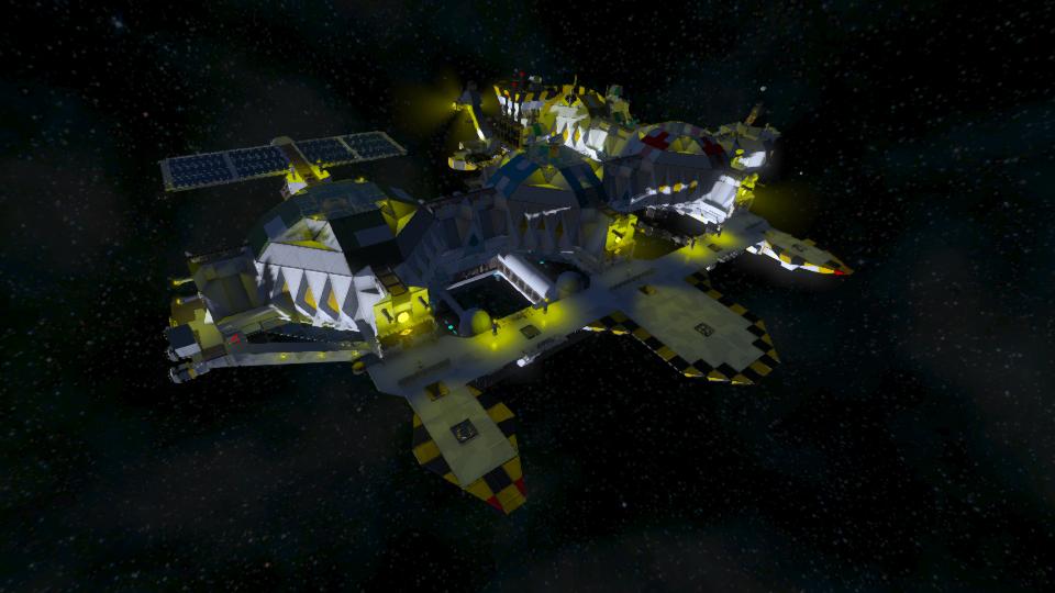 Space Station Orbital Base - LG-4479