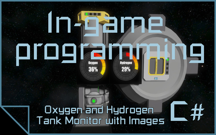 Oxygen and Hydrogen Tank Monitor with Images