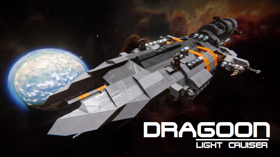 'Dragoon' Light Cruiser (Vanilla)