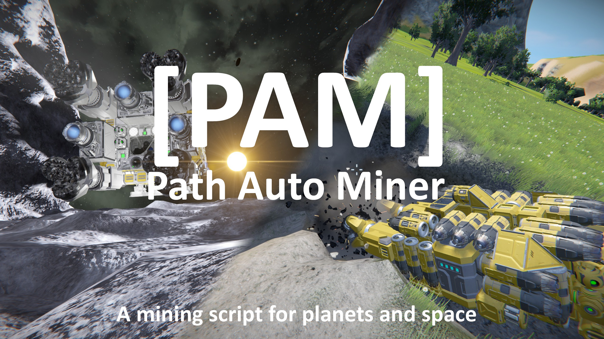 [PAM] Path Auto Miner | Automated Mining, Grinding and Transportation | by Keks