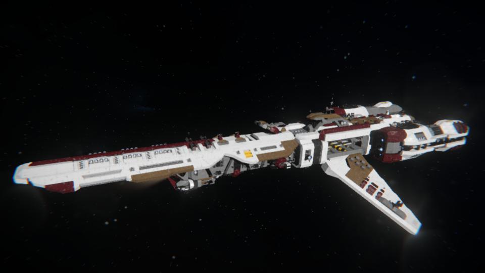 """""""Allegiant"""" - Defender-class Battlecruiser (Vanilla)"""