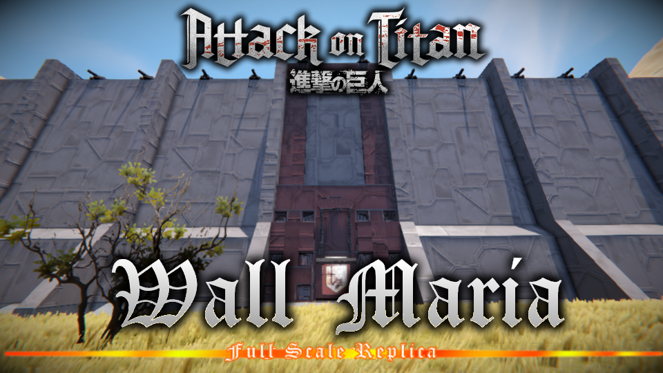 Steam ïークショップ Attack On Titan Wall Maria