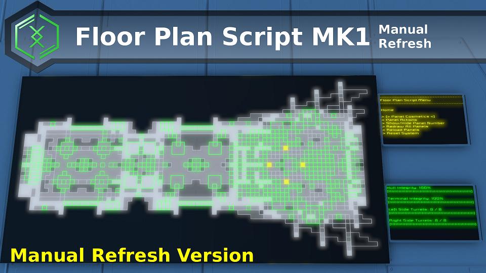 Manual Refresh Floor Plan Script Mk1