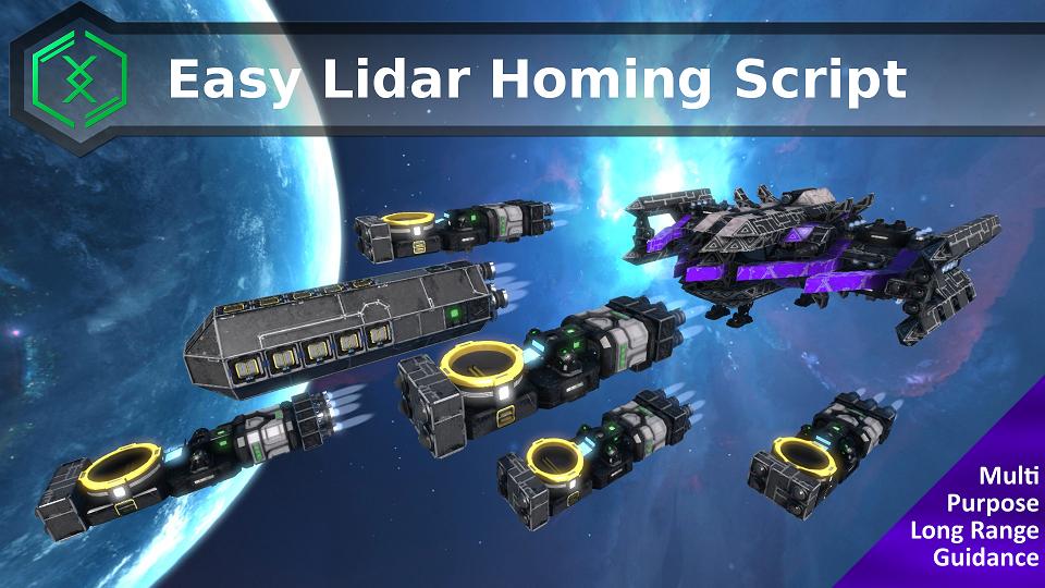 Easy Lidar Homing Script